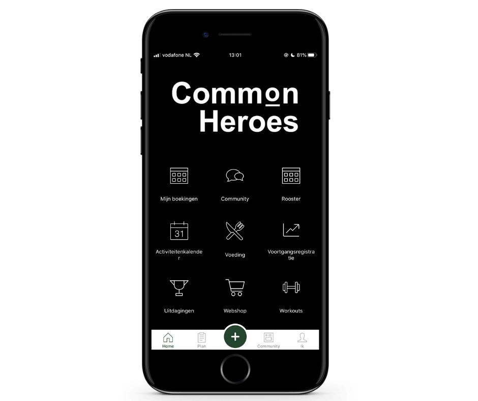 Common Heroes App